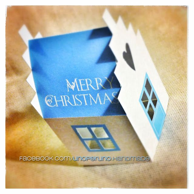 A gift :) paper house