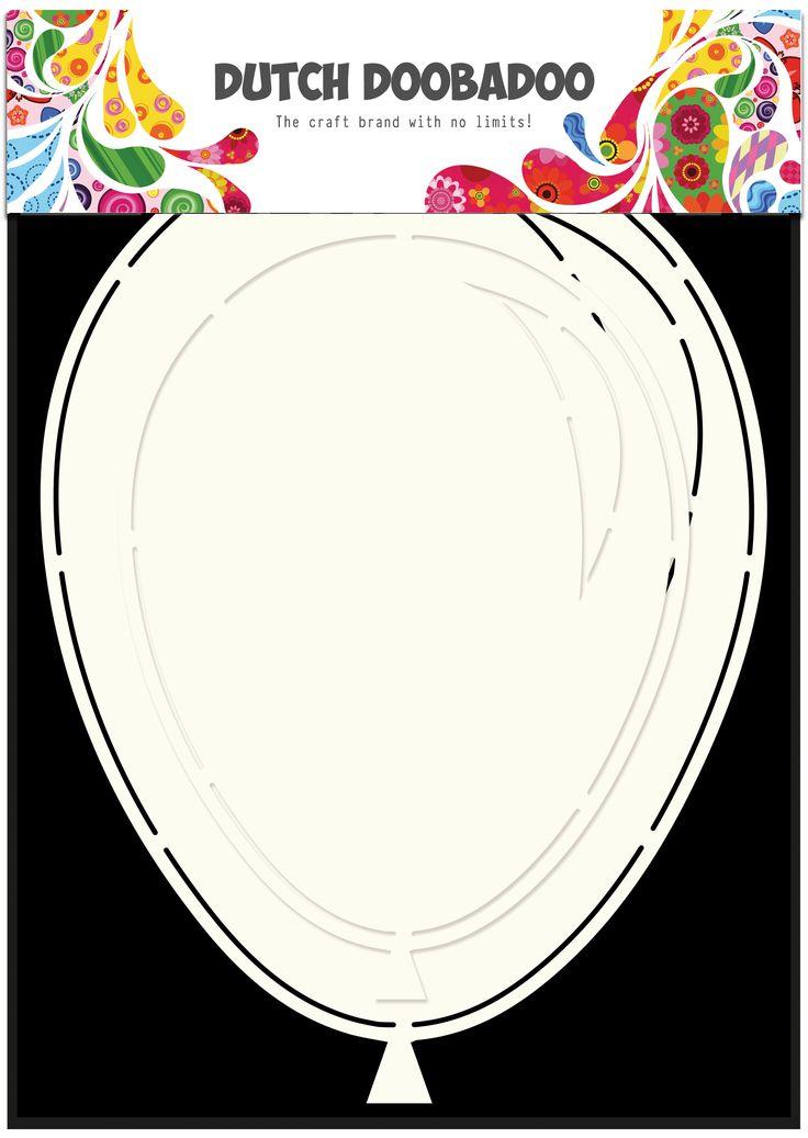470.713.631 Dutch Doobadoo Card Art Balloons