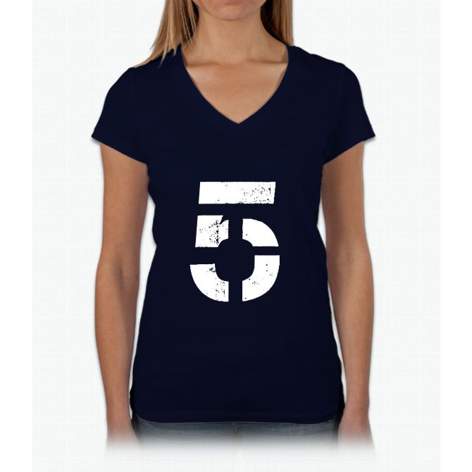 tom brady Womens V-Neck T-Shirt