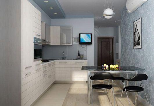кухня 11 квадратных метров