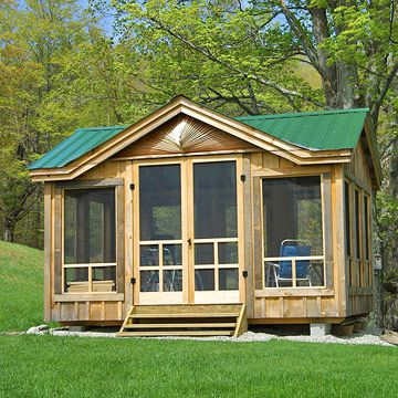 Screened Shed `~ so neat