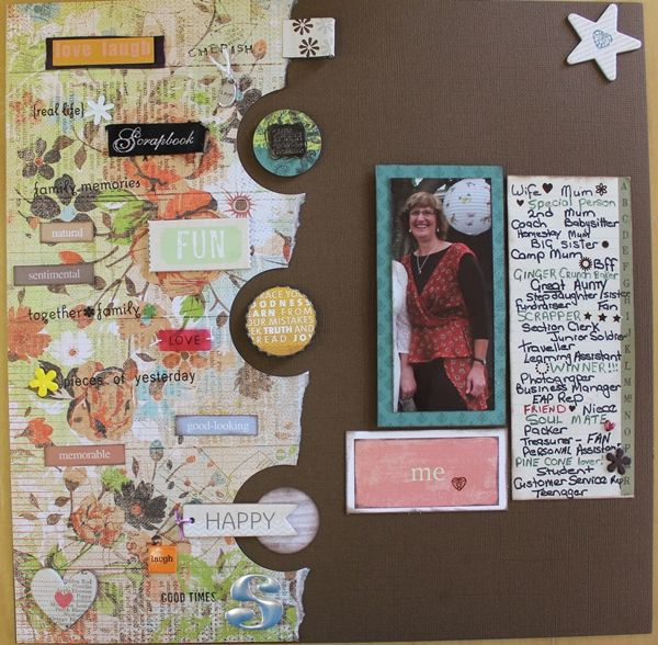 ScrapCamp Challenge - October 2013 - Sylvia's winning entry