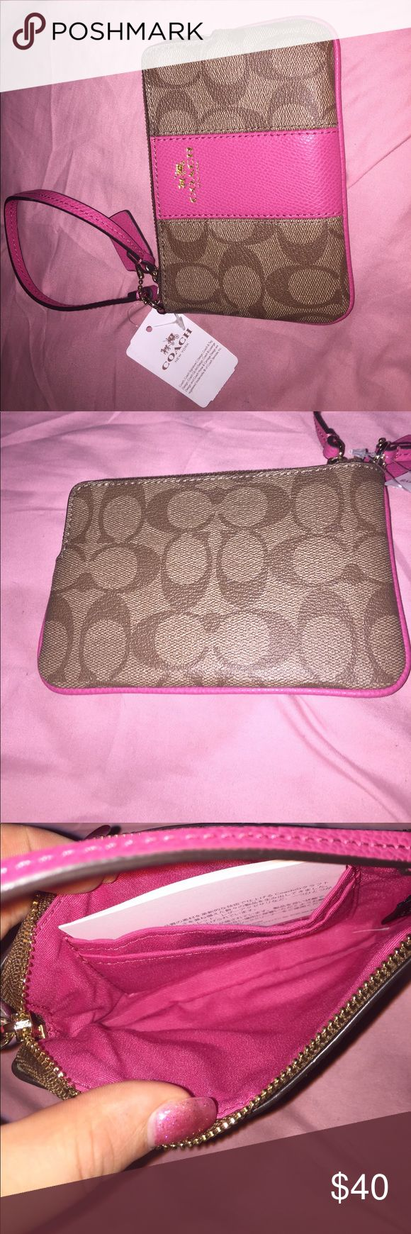 Coach wristlet Brand new, never been used Coach Bags Clutches & Wristlets