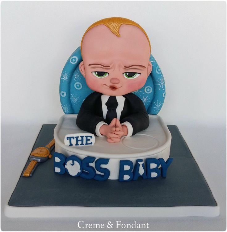 The boss baby cake.