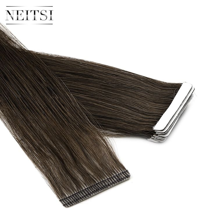Neitsi Newest Tape In Remy Human Hair Extensions I…