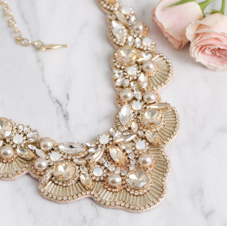 Make a statement. The Jolie Statement Necklace is available on my boutique now at https://www.chloeandisabel.com/boutique/nancynicol