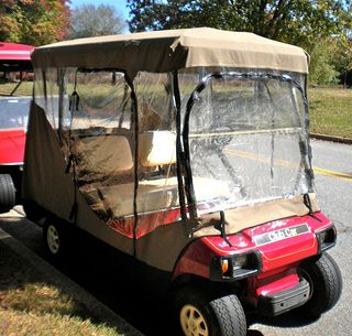 If You Get A Four Sided Golf Cart Enclosure And Have Windshield Be Sure