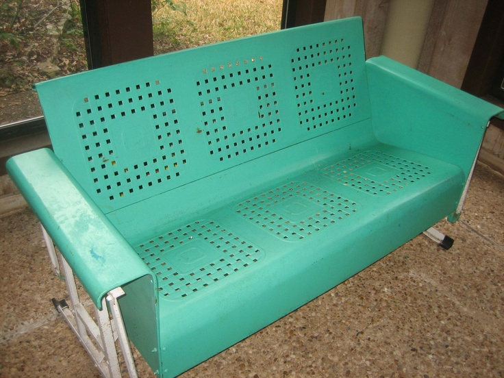 For the back porch. #midcenturymodern #gliders