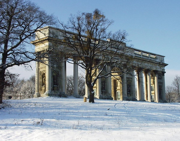 Lednice-Valtice: Colonnade Reistna: