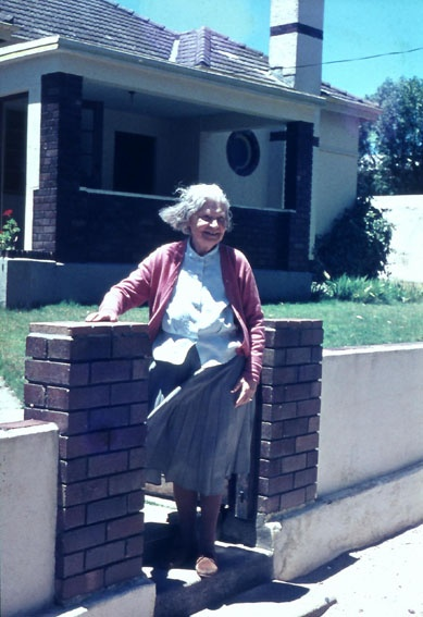 Laubser_Maggie , the lady next door.
