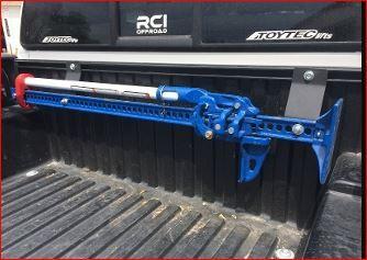 RCI Tacoma Hi-lift Mount for Bed Rails