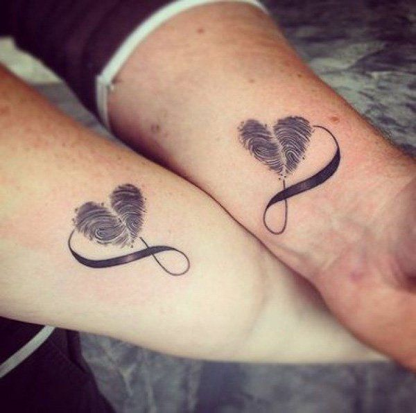 best 25 couple tattoo heart ideas on pinterest tattoo. Black Bedroom Furniture Sets. Home Design Ideas