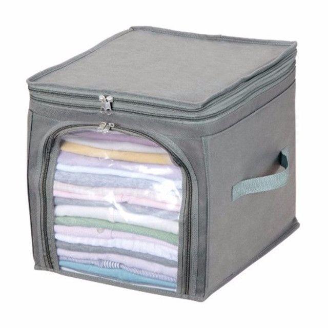 Foldable Fabrics Clothes Storage Box Organiser