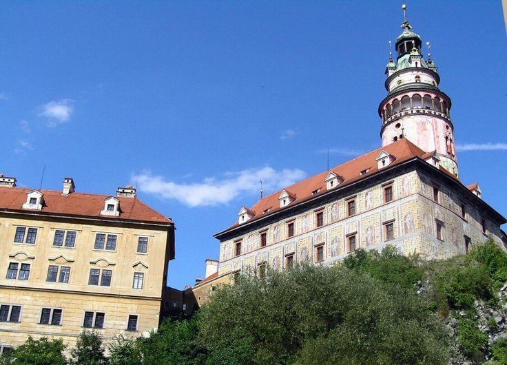 http://guias-viajar.com/chequia/ Castillo de Cesky Krumlov en República Checa