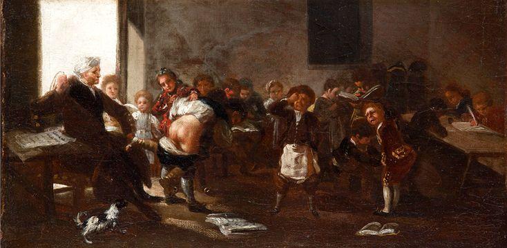 La letra estafa sangre entra porción Francisco de Goya