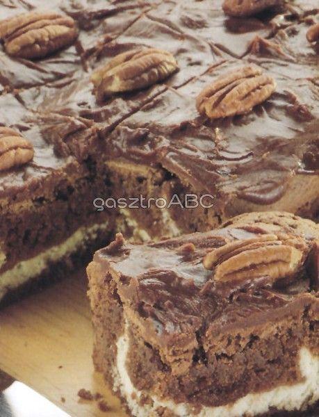 Túrókrémes brownie | Receptek