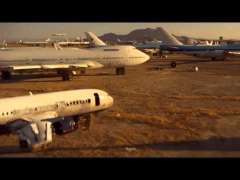 Channel 4 - Ident - Aircraft Graveyard - 2010