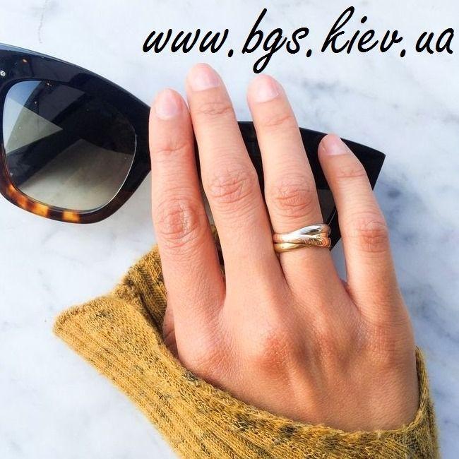 фото кольцо тринити картье