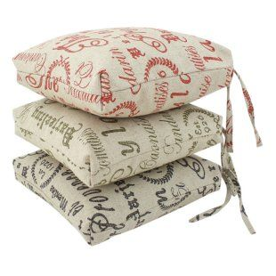 Superior Kitchen Seat Cushions With Ties | INDOOR CHAIR CUSHIONS WITH TIES | Chair  Pads Cushions