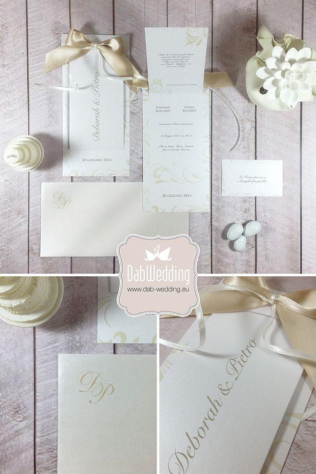 Aiko, la nostra partecipazione elegante e raffinata per matrimonio dai temi romantici. Aiko, our elegant wedding invitation for romantic weddings.