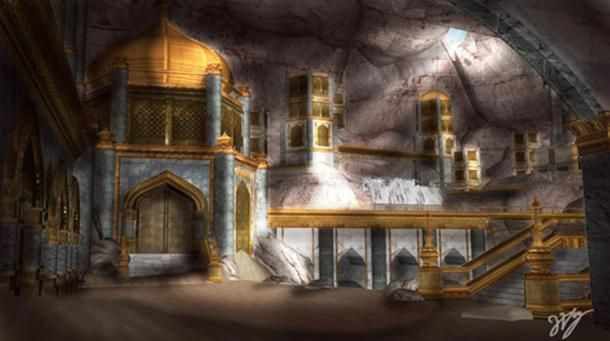 Atlantis of the Sands, is a lost city, tribe or area spoken of in the Quran, which has come to be known as Iram of the Pillars.