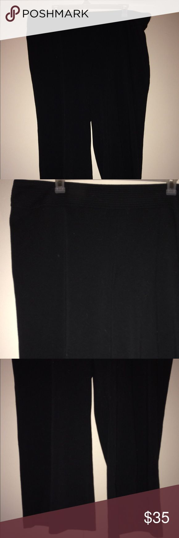 Lane Bryant Black Dress Slacks Size 22/24 Average Perfect condition! Lane Bryant Pants Trousers