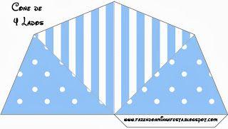 Роа Синий и Stripes - Полный комплект с рамками для приглашения, этикетки для конфет, сувениров и картин!