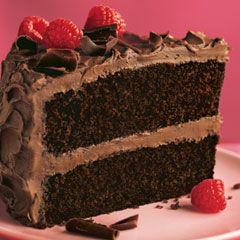 Super Moist Chocolate Cake  #HappyBirthdayHellmanns