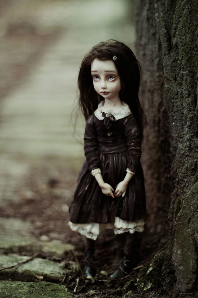 Artist doll by Helena Oplakanska