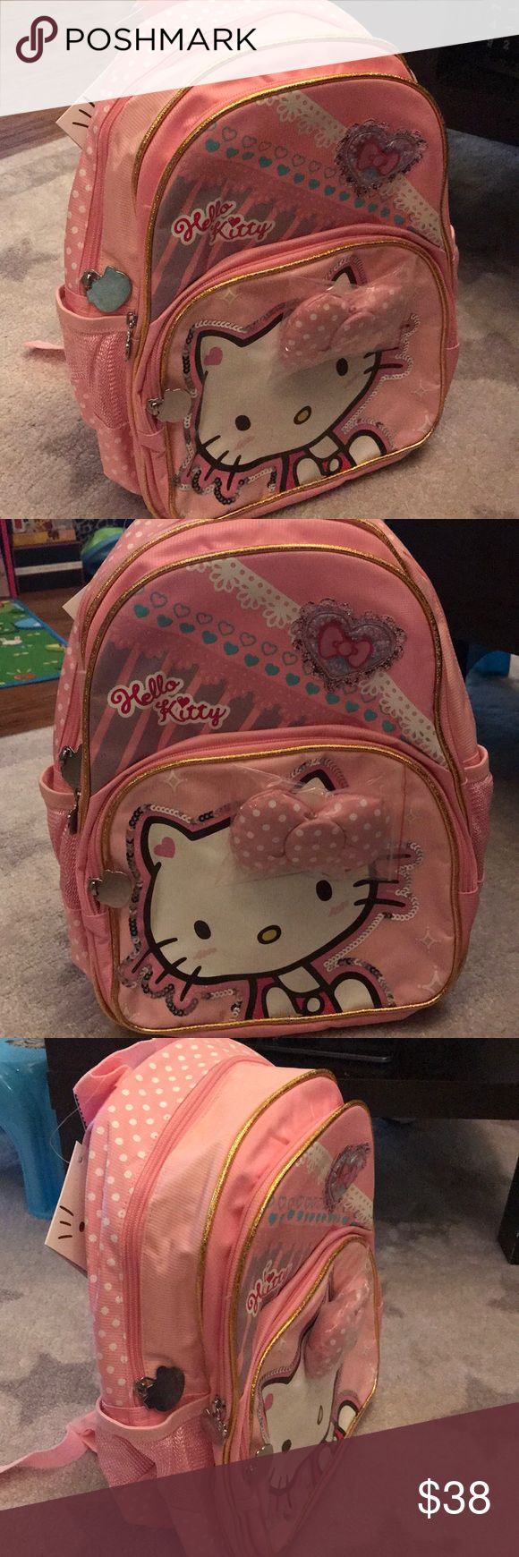 Hello kitty backpack Brand new Hello kitty backpacks for 6-10 year old girls Hello Kitty Accessories Bags
