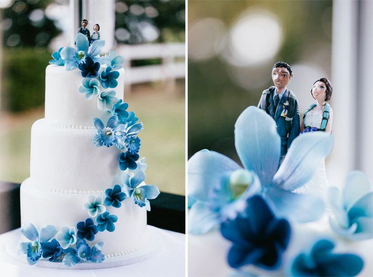 such a fun cake topper showing the couples love for skydiving cake by cakeworks photo by. Black Bedroom Furniture Sets. Home Design Ideas