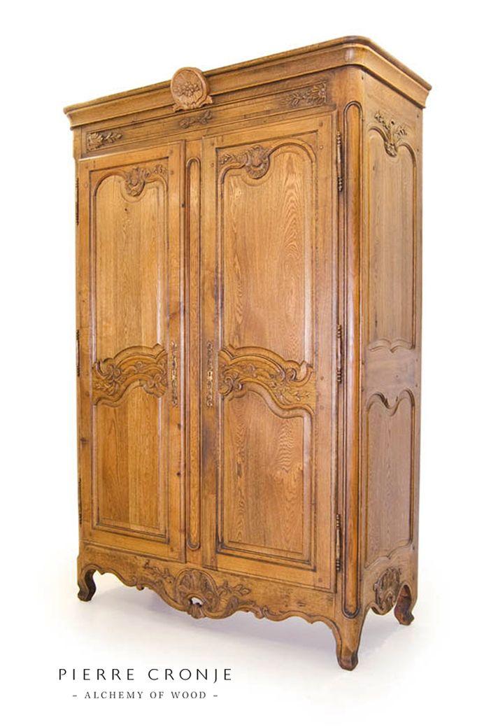 A Pierre Cronje Versailles Armoire in French Oak