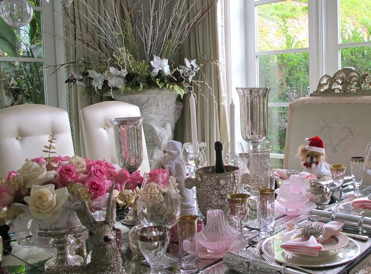 Lisa Vanderpump 39 S Christmas Table Setting Lisa