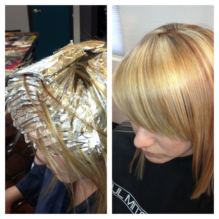 Change Your Foil Pattern For Different Blonding Results