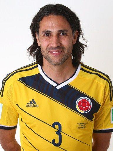 Las fotos oficiales de #Colombia #Fifa #Brasil2014 - Mario Yepes