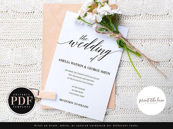 20 best PT♥B Wedding Invitations images on Pinterest - office depot resume paper