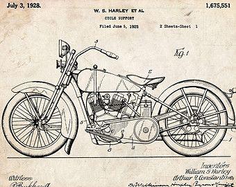 Harley Davidson Poster 18x24