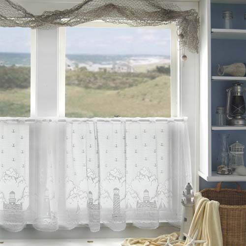 Beach Cottage Window Treatment Bath Ideas Pinterest Window Treatments Beach Cottages And