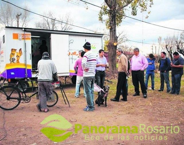 Histórico número de castraciones de mascotas en Villa Gobernador Gálvez