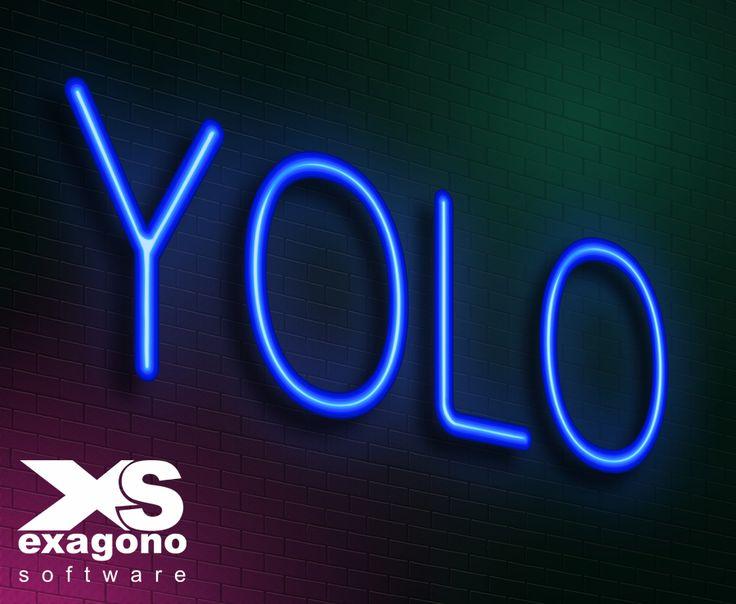 """Yolo significa: """"YouOnly Live Once""""…   Y en español: """"Solo se vive una vez"""" y es una invitación a deshacerte de los prejuicios y miedos que te impiden atreverte a realizar ciertas cosas. #Paginaweb #Navegadorweb #Internte #Tecnologia #Desarrolloweb"""