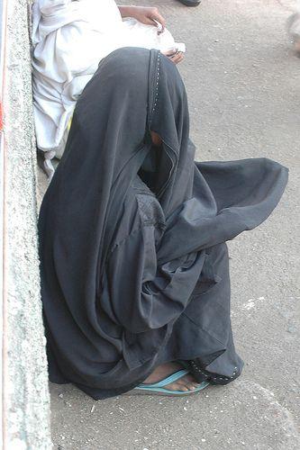 Idd Mubarak Muslim Beggar Woman