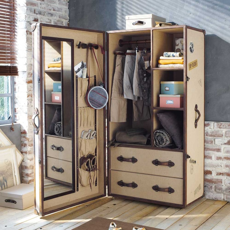 Elegant Play Space/dress Up Trunk INSPIRATION~ I Love Incorporating Vintage Pieces  And The Idea