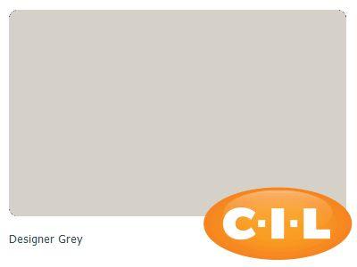 Designer Grey - All walls