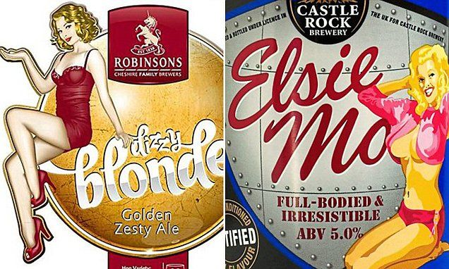 'Sexist' craft beer names and images to be banned