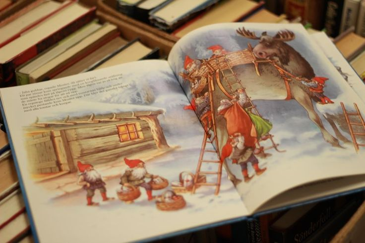 En bok; Christmas story