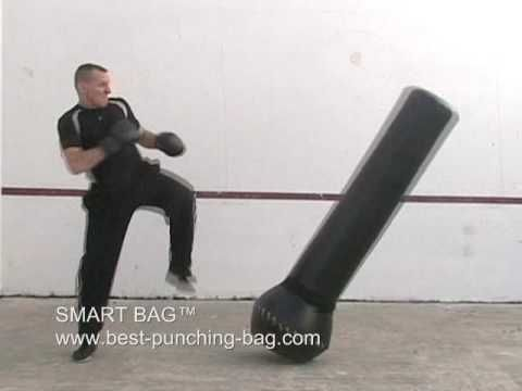 The SMART BAG™ Freestanding Heavybag / Ground And Pound Bag - YouTube