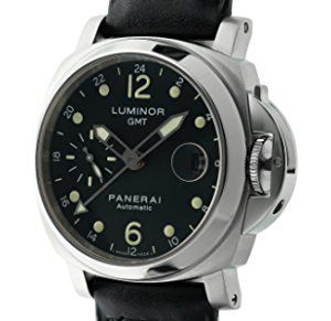 Officine Panerai Luminor GMT automatic-self-wind mens Watch PAM159 (Certified Pre-owned)