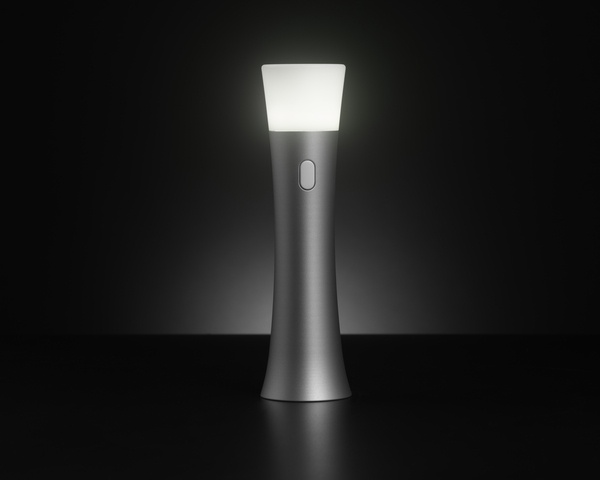 Trioh! flashlight by Greg Hinzmann, via Behance.