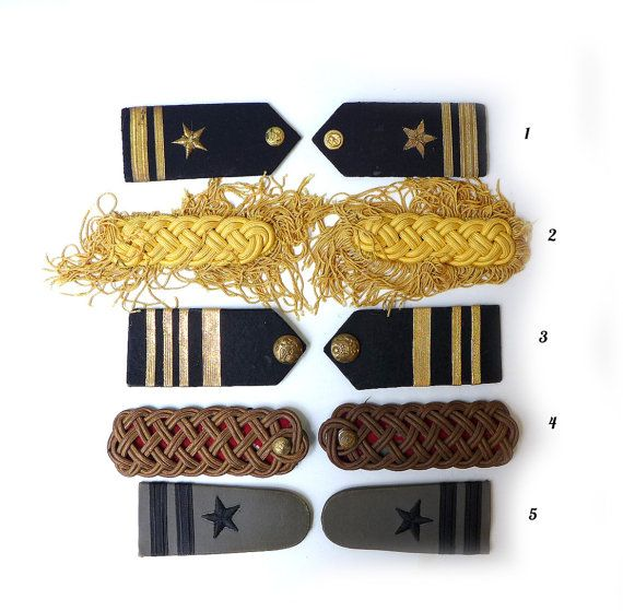 Vintage selection of mid century US navy uniform by evaelena