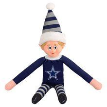 Team Plush Elf Dallas Cowboys